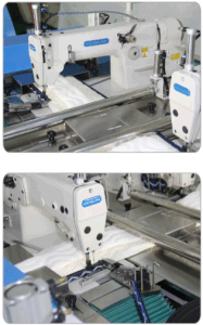 Mattress Automatic Border Tape Decoration Sewing Machine (PT-4) pictures & photos
