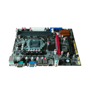 Hot Sale Fully Tested DDR3 H55-1156 Motherboard Support 1066/1333MHz pictures & photos