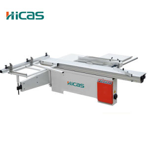 Woodworking 4kw Sliding Table Panel Saw with Scoring Blade pictures & photos