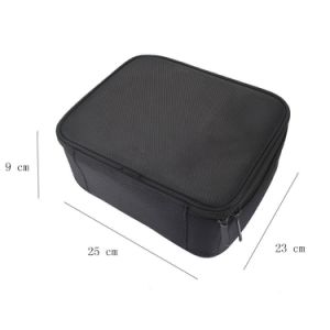 Functional Cosmetic Tools Container Beauty Professional Makeup Brush Train Case pictures & photos