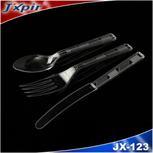PP or PS Disposable Plastic Cutlery (Knife Fork Spoon) pictures & photos