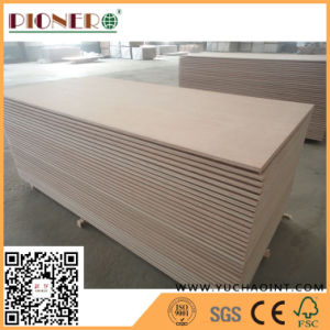 2.5mm Red Face Plywood for Making Door pictures & photos