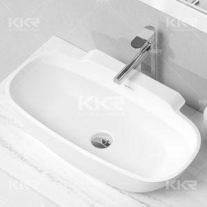 China Modern Acrylic Resin Stone Bathroom Washbasins (B1708034) pictures & photos