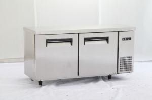 Commercial Double Door Workbench Refrigerator (0.25L2) pictures & photos