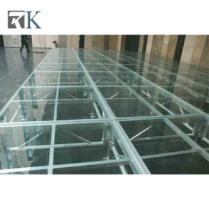 2018 Wholesale Aluminum Glass Stage/Portable Stage for Catwalk Event pictures & photos