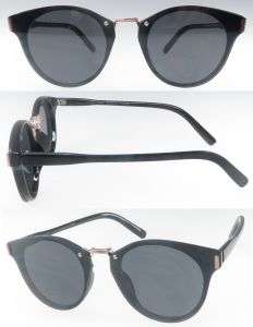 OEM Comfortable Fashion Designer Flat Lens UV400 Sunglasses pictures & photos