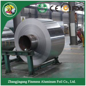 Adhesive Household Aluminum Foil in Jumbo Roll pictures & photos