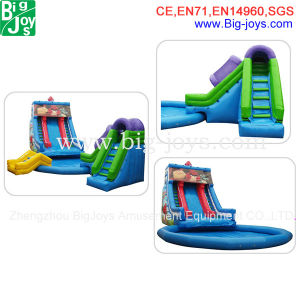 Used Commercial Water Park Games Inflatable Slide Inflatable Water Slide for Sale Inflatable Slide with Pool pictures & photos