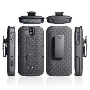 Factory Price TPU PC Kickstand for Kyocea E6820 Full-Body Rugged Holster Robot Combo Case pictures & photos