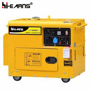 4kw Silent Generator with 9HP Diesel Engine (DG5500SE) pictures & photos