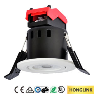 Ce RoHS 6W Dimmable Fire Rated LED Downlight with Quick Connector pictures & photos