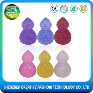 New Arrivals 100% Pure Glitter Gourd Shape 3D Silicone Makeup Sponge pictures & photos