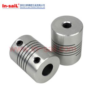 6mmx8mm D25L30 CNC Motor Helical Shaft Coupler pictures & photos