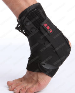 Customized Black Spat Wrap Neoprene Ankle Support pictures & photos
