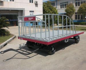 Baggage Carts Airport Aircraft Trolley pictures & photos