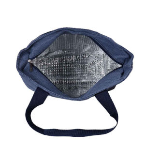 New Fashion Promotional Shoulder Insulated Polyester Lunch Cooler Bag pictures & photos