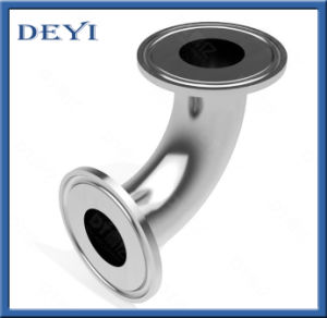 Sanitary Stainless Steel Pipe Fitting Coupling Bend Clamped Elbow with SMS/DIN Standard (DY-015) pictures & photos