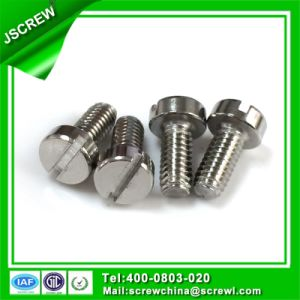 Carbon Steel Flat Knurling Head Customize Machine Screw pictures & photos