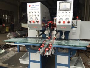 Factory Supply Glass Double Holes Drilling Machine pictures & photos