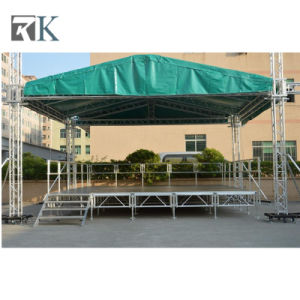 Rk Portable Aluminum Stage with Adjustiable Legs Performance Equipment pictures & photos