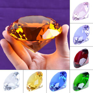 Clear Crystal Glass Diamond with Crystal Base pictures & photos