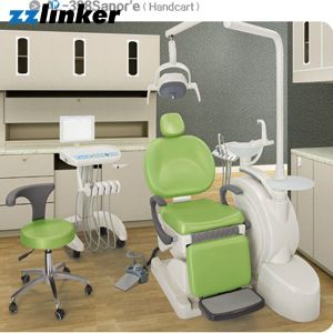 Integral Anle Al-398sanor Standard Dental Unit Chair pictures & photos