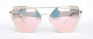 Metal Nylon Lens Wholesale Sun Glasses pictures & photos