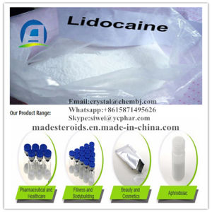Pharmaceutical Grade Local Anesthetic Drugs Lidocaine for Conduction / Epidural Anesthesia 137-58-6 pictures & photos