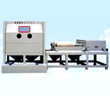 Semi-Automatic Sandblasting Machine for Steel Pipe pictures & photos
