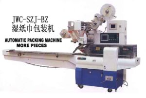 Wet Napkin Packing Machine (JWC-SZJ-BZ) pictures & photos