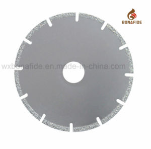 Popular Type Vacuum Brazed Diamond Saw Blade Segment U Solt pictures & photos