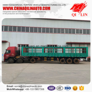 2017 New Factory Price 60 Tons Storage Fence Semi Trailer pictures & photos