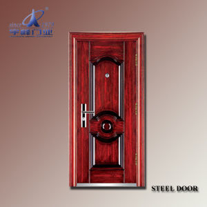 Safety Door Design with Grill-Yf-S108 pictures & photos