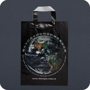 Premium Custom Printed Plastic Shopping Bag pictures & photos