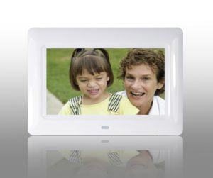 LCD Video Digital Photo Frame with Montion Sensor pictures & photos