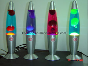 LED Flashing Floating Lava Lamp Glitter Lamp pictures & photos