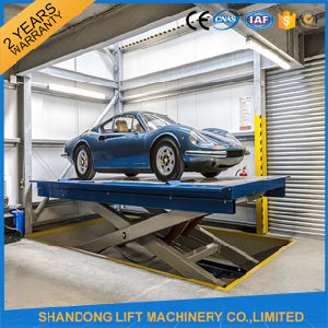 Ce Certified Hydraulic Car Scissor Lift pictures & photos