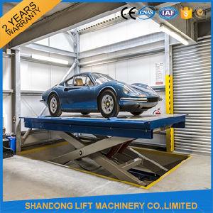 Ce TUV SGS Hydraulic Electric Car Scissor Lift pictures & photos