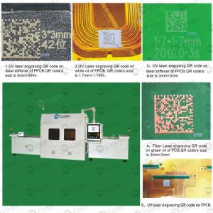 Automated PCB Laser Marking Machines for Product Tracking pictures & photos