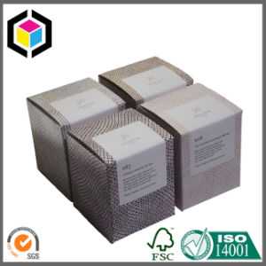Custom Matte Color Print Candle Paper Packaging Box