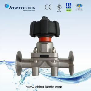 Manual Clamped Diaphragm Valve, Stainless Steel Diaphragm Valve pictures & photos