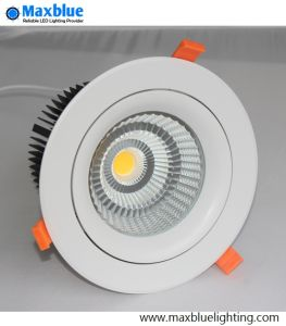 30W Triac 0-10V Dali Dimmable Recessed LED Downlight/ LED COB Downlight for Project and Commercial Lighting pictures & photos