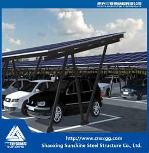 Solar Panel Roof Mounting Galvanized Steel Structure Bracket with Steel Beam pictures & photos