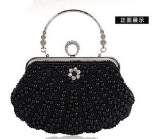 Elegant Pearl Crystal Wedding Evening Party Clutch Handbag (LDO-01656) pictures & photos