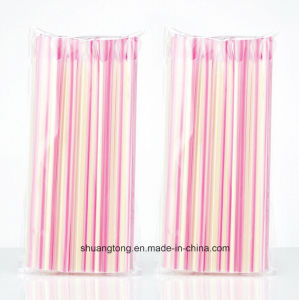 Eco-Friendly Kitchen Disposable Plastic Straw Spoon pictures & photos