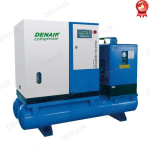 18kw 25 HP Silent Lubricated Integrated Screw Air Compressor pictures & photos