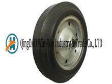 15 Inch Solid Rubber Wheels for Garden Cart pictures & photos