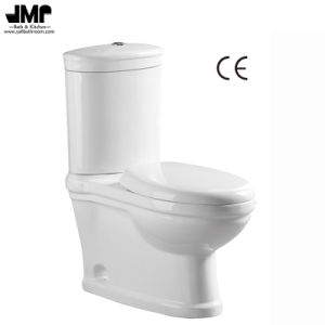 2595 Ce Approved Sanitary Ware Dual Flush Washdown Two Piece Ceramic Toilet pictures & photos