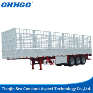 Aluminum Alloy Stake Semi Trailer pictures & photos