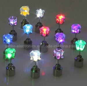 Light up Glowing Studs Ear Ring with Laser Logo (4901) pictures & photos